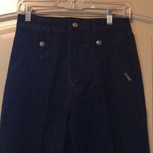 Vintage Black Rockies Jeans size 29/9 XL length